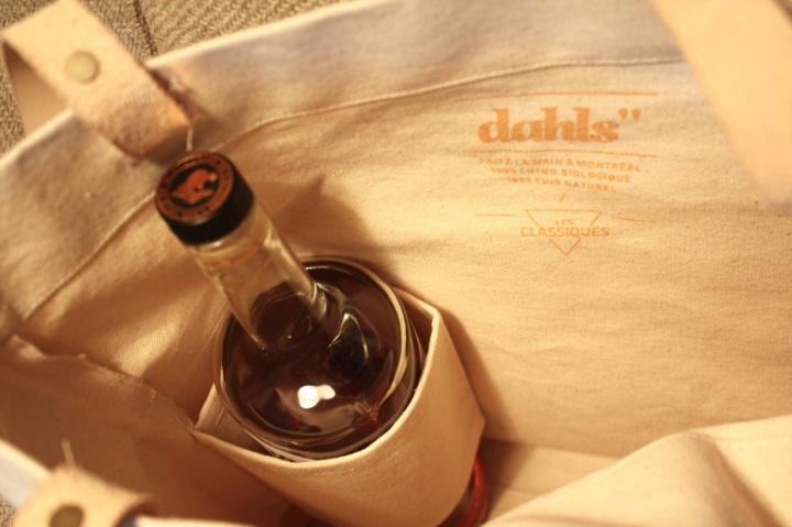 Inside Dalhs Grocery Bag